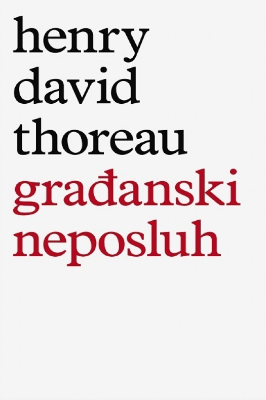 Henry David Thoreau: Građanski neposluh